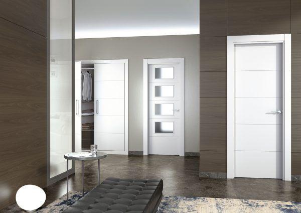 Puerta Lacada blanca VINCI