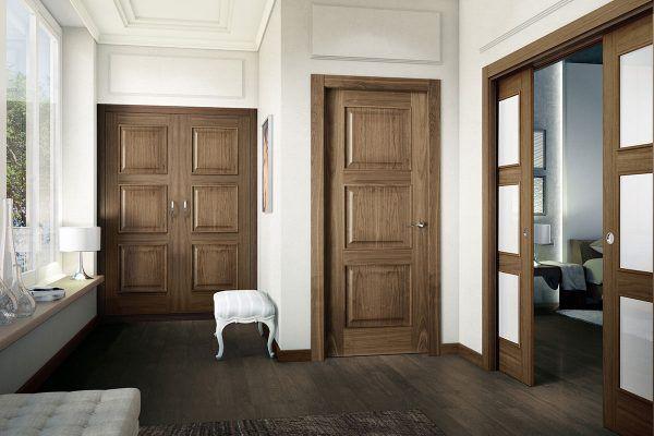 Puerta nogal Carpintera ARPA