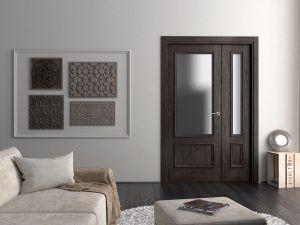 Puerta cocoa Carpintera BAJO