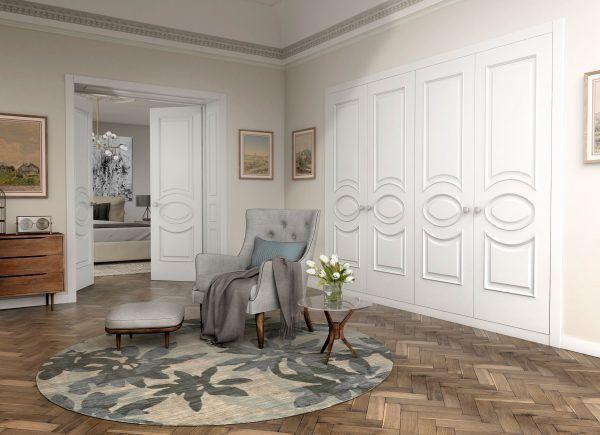 Puerta lacado blanco Carpintera VIOLIN