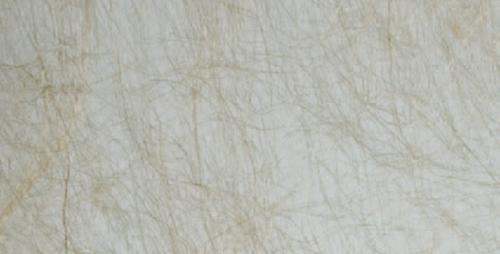 Cristal con hilos beige