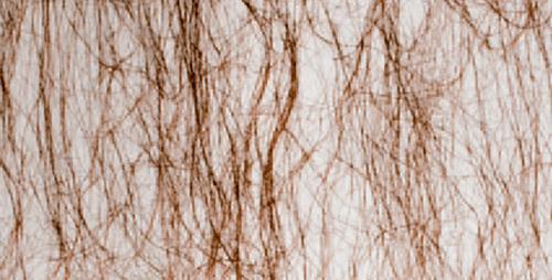 Cristal con hilos marrón