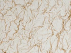 Cristal con tela marrón
