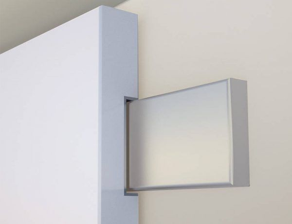 Sliding Door with Integrated Guide